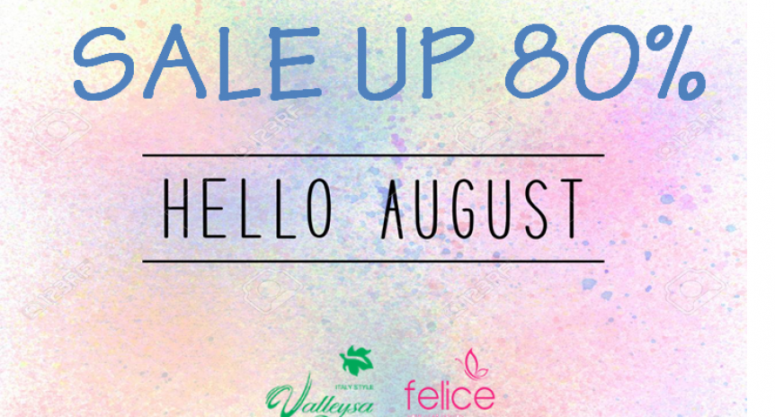 Hello August – Sale Up 70%